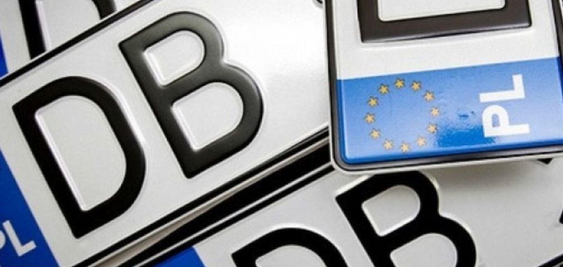 Отменить налоги ''евробляхерам'': стали известны нюансы нового законопроекта