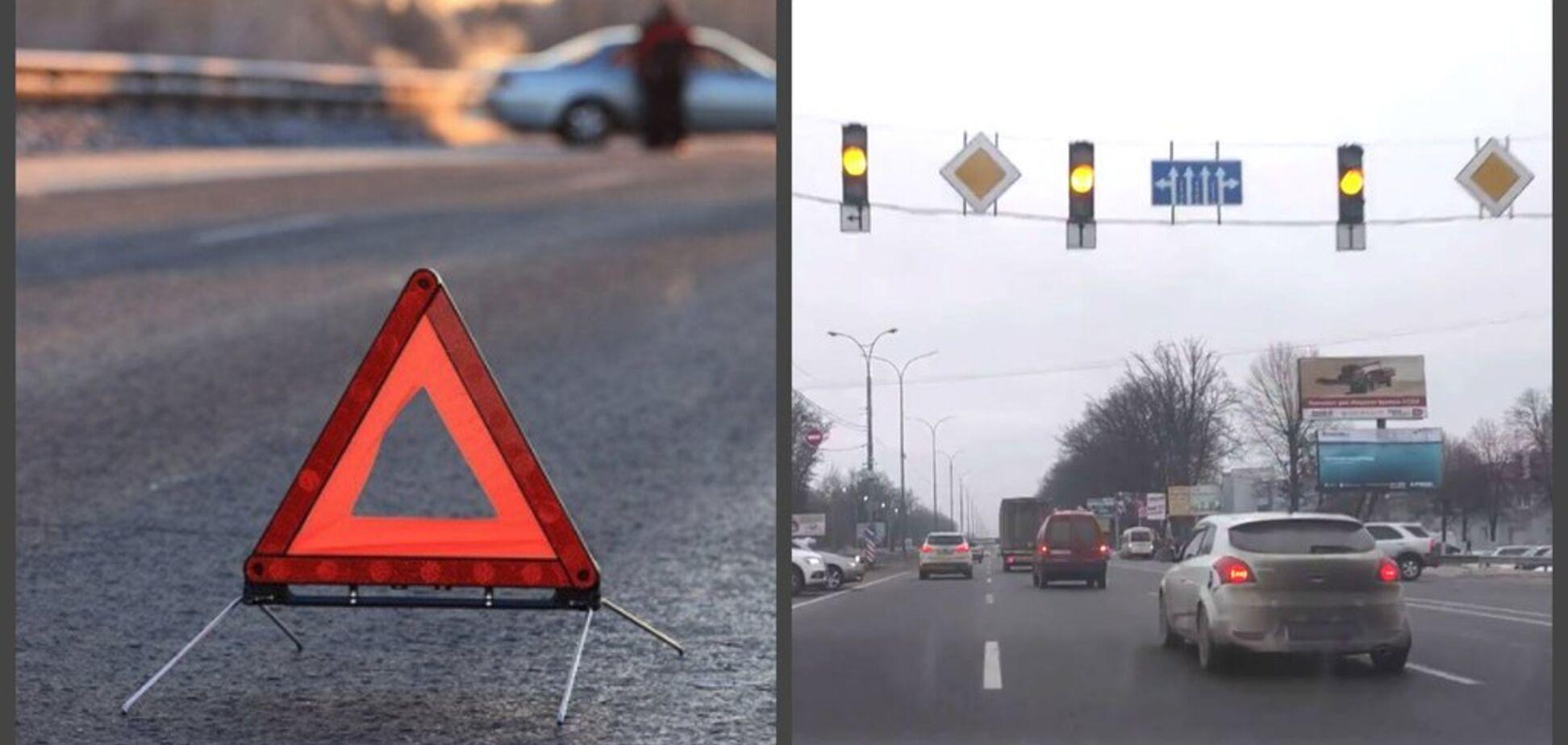 Війна на дорогах: під Києвом ''ожив'' скандальний світлофор
