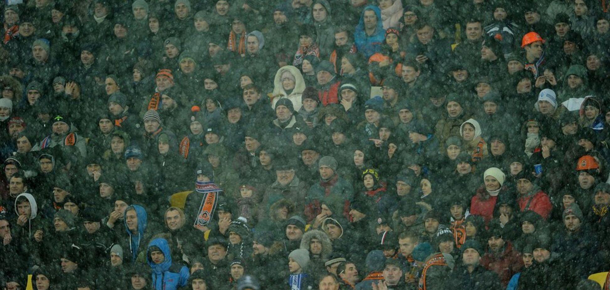''Вам тут не рады'': болельщики в Киеве передали жесткий привет 'Шахтеру' на матче Лиги чемпионов