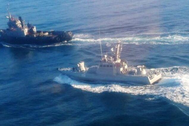 Захоплення українських кораблів — Чорному морі