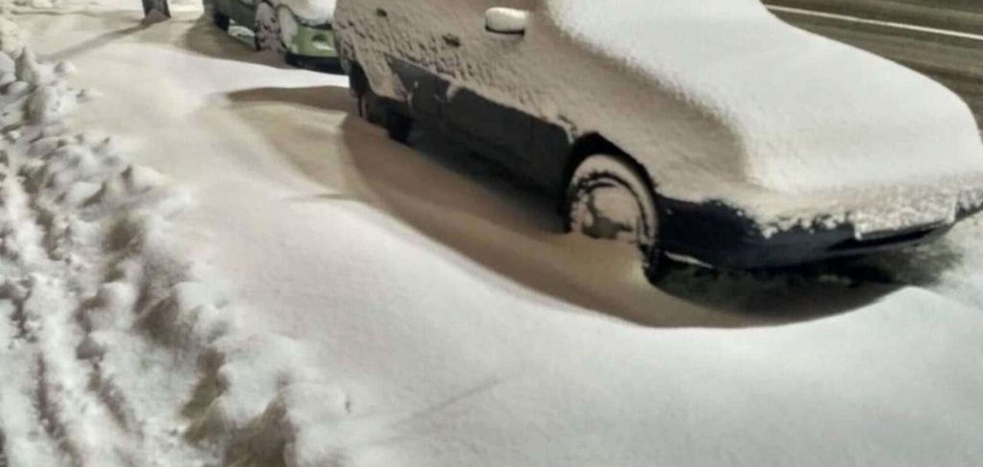 Сніговий шторм у Києві: з'явилися свіжі дані про ситуацію на дорогах