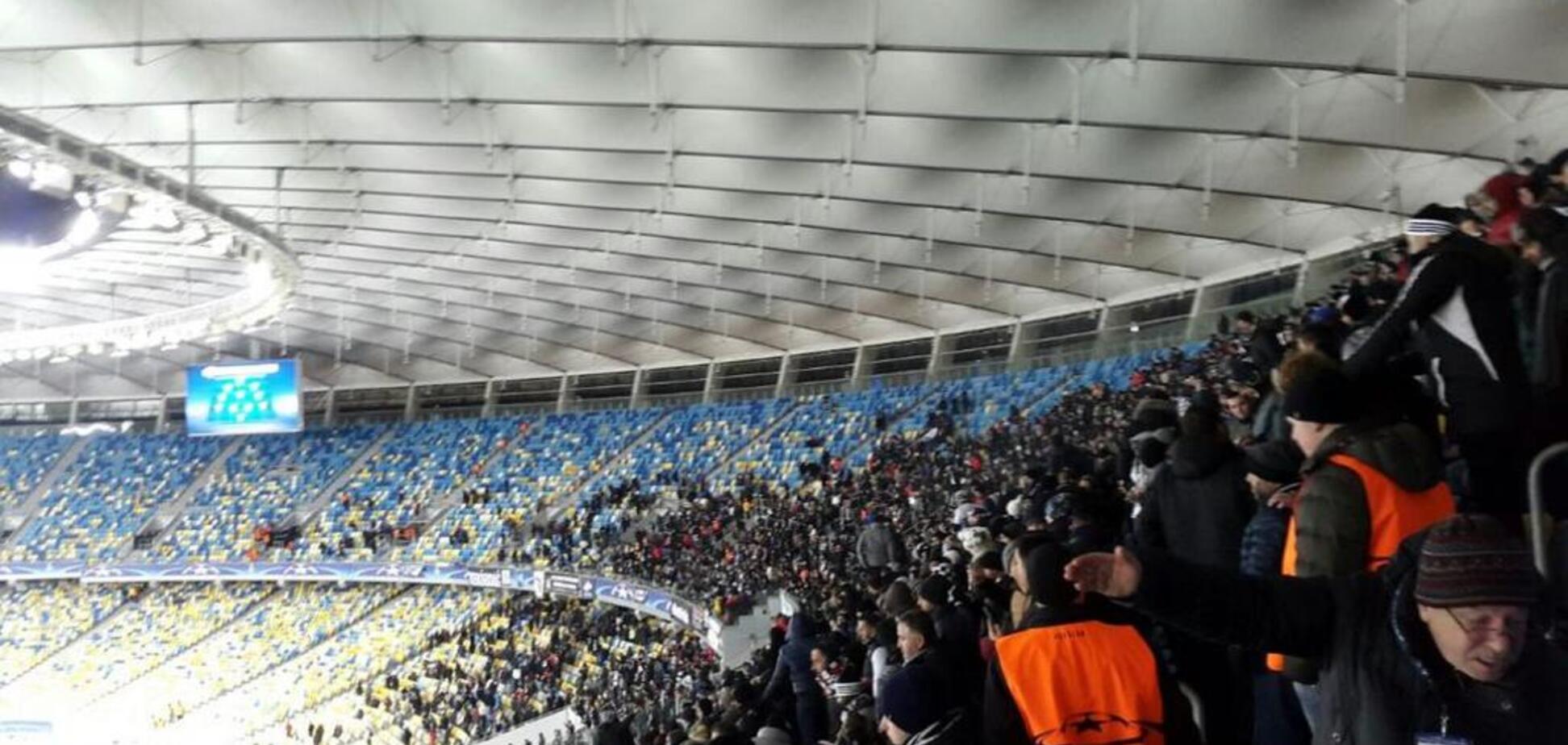 Уболівальники в Києві ледь не зірвали матч 'Шахтар' - 'Ліон'