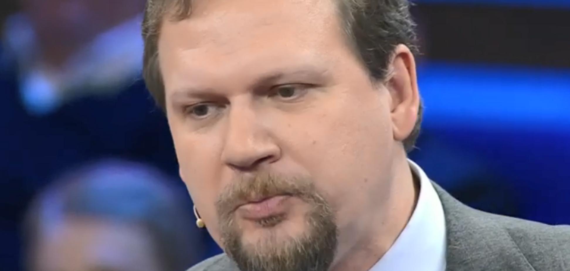 ''Тебя надо заткнуть!'' Украинская журналистка унизила голос ''антимайдана'' на росТВ