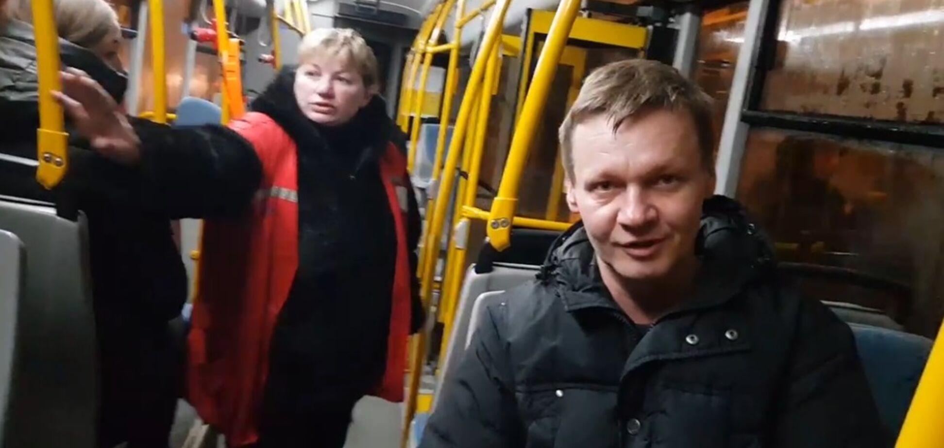 ''Чудовисько'': в київському тролейбусі розгорівся скандал