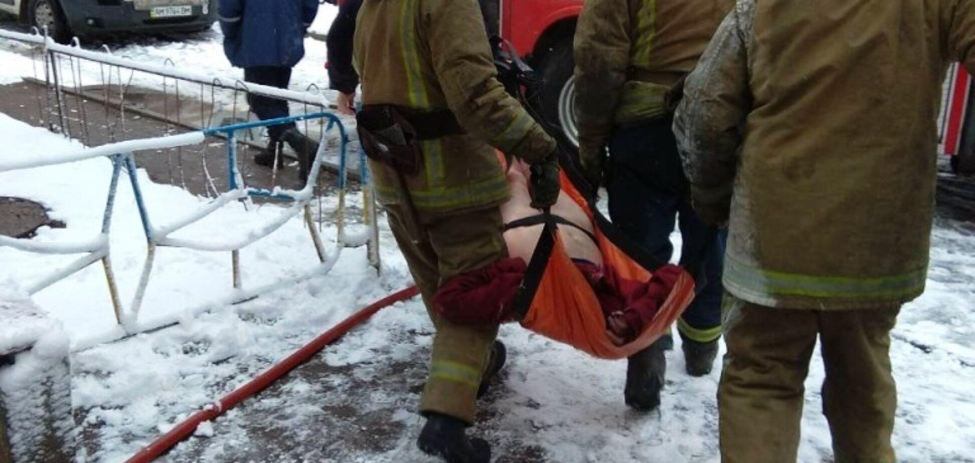 Померла дитина: під Житомиром спалахнула моторошна пожежа в багатоповерхівці