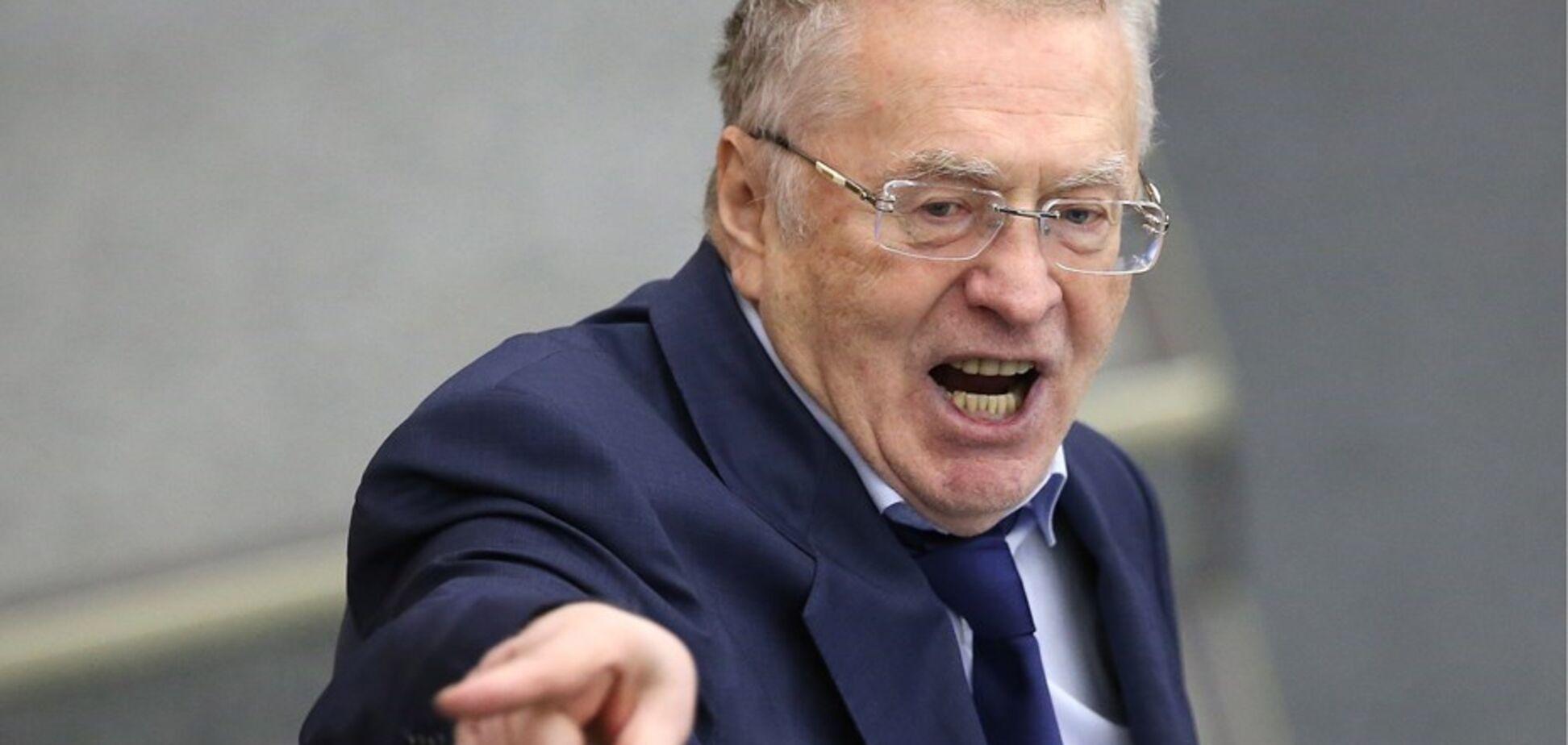 ''Нова війна!'' Жириновський анонсував нічний наступ в Україні