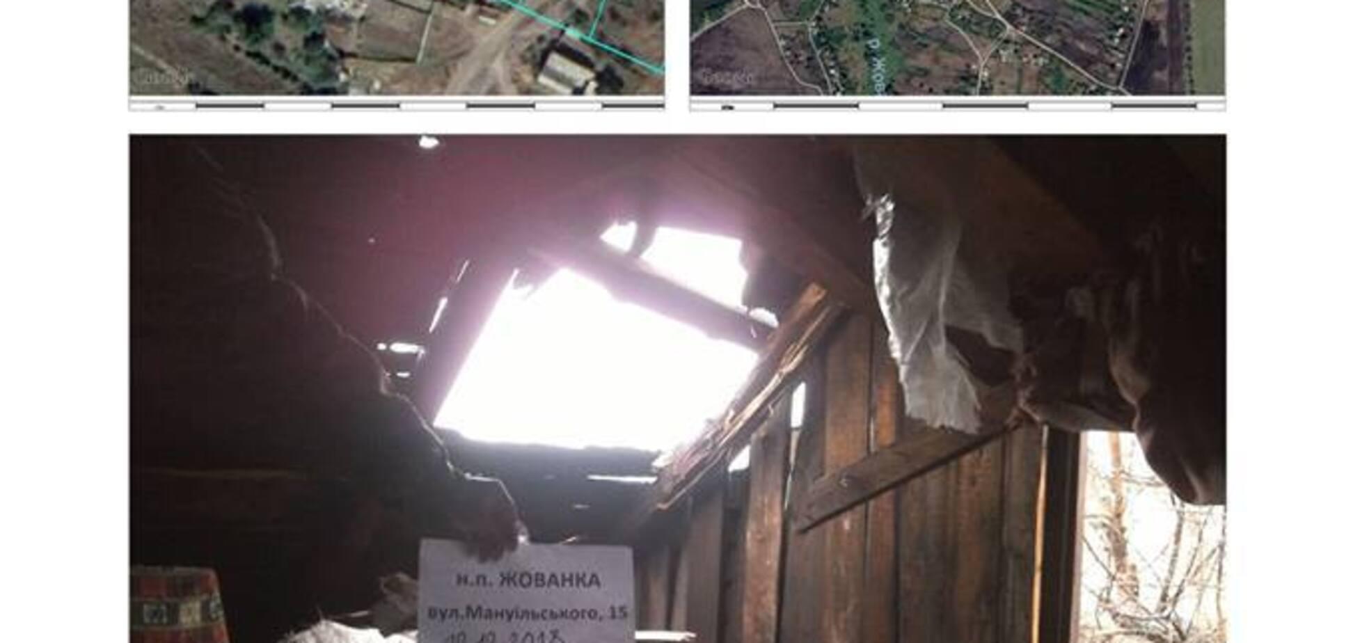 Російські окупанти обстріляли будинки мирних жителів на Донбасі: опубліковано фото