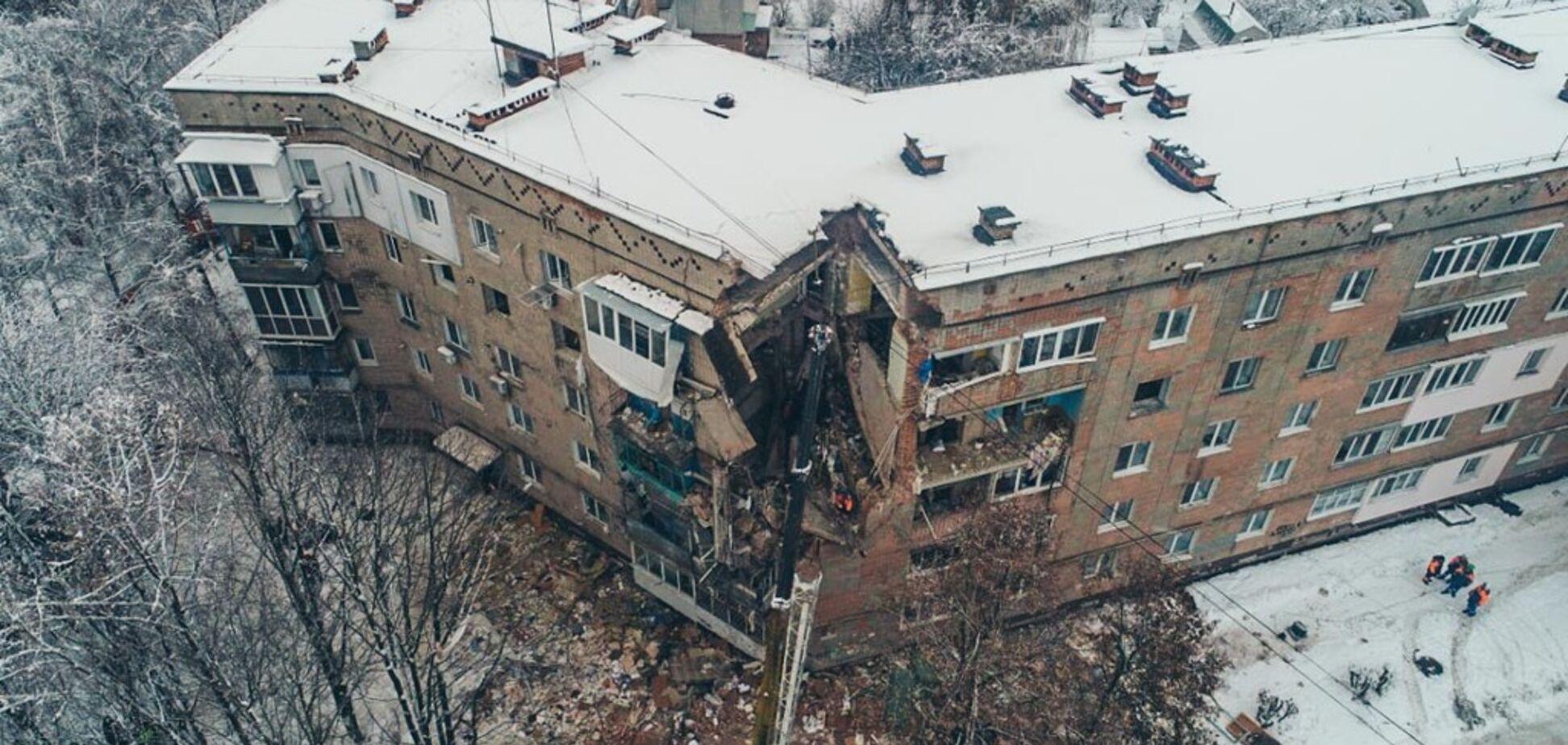 Взрыв в Фастове