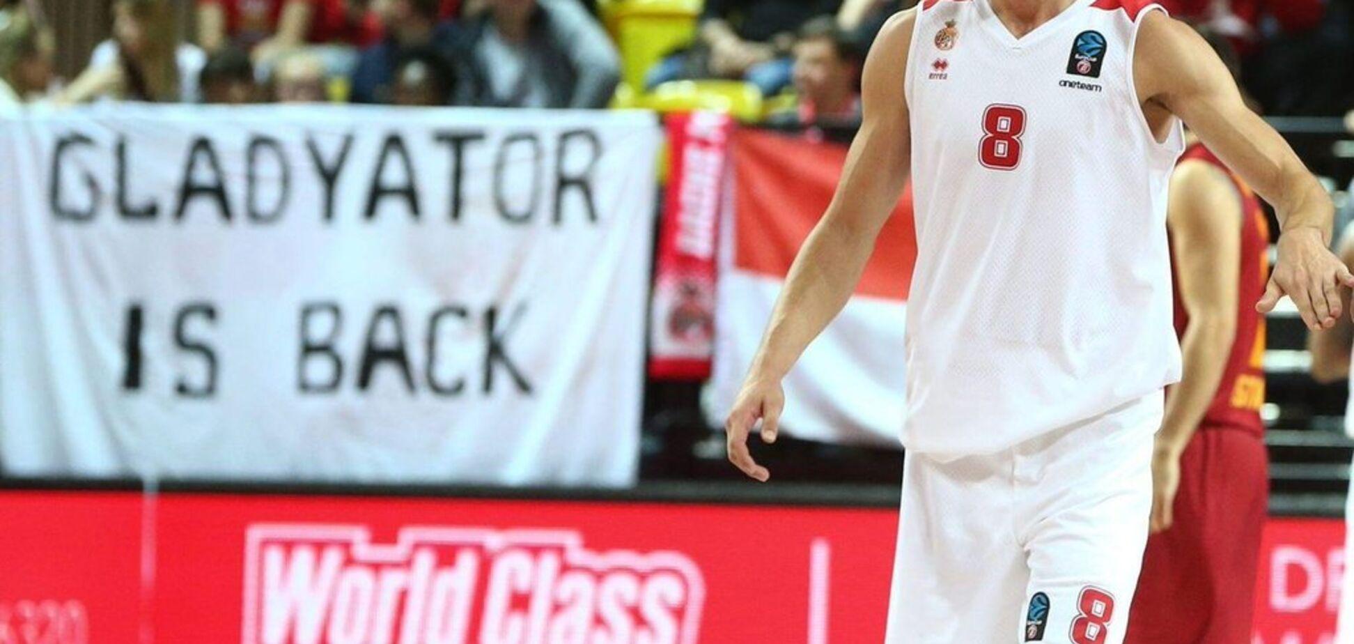''Gladyator is back'': баскетболіст збірної України викликав фурор у Франції