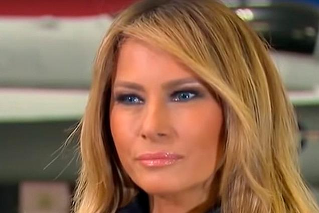 ''Использовала средство мужа'': в сети высмеяли новую прическу Меланьи Трамп