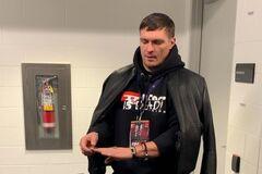 ''Психанул'': в сети показали, как Усик начудил во время боя Гвоздика - опубликовано видео