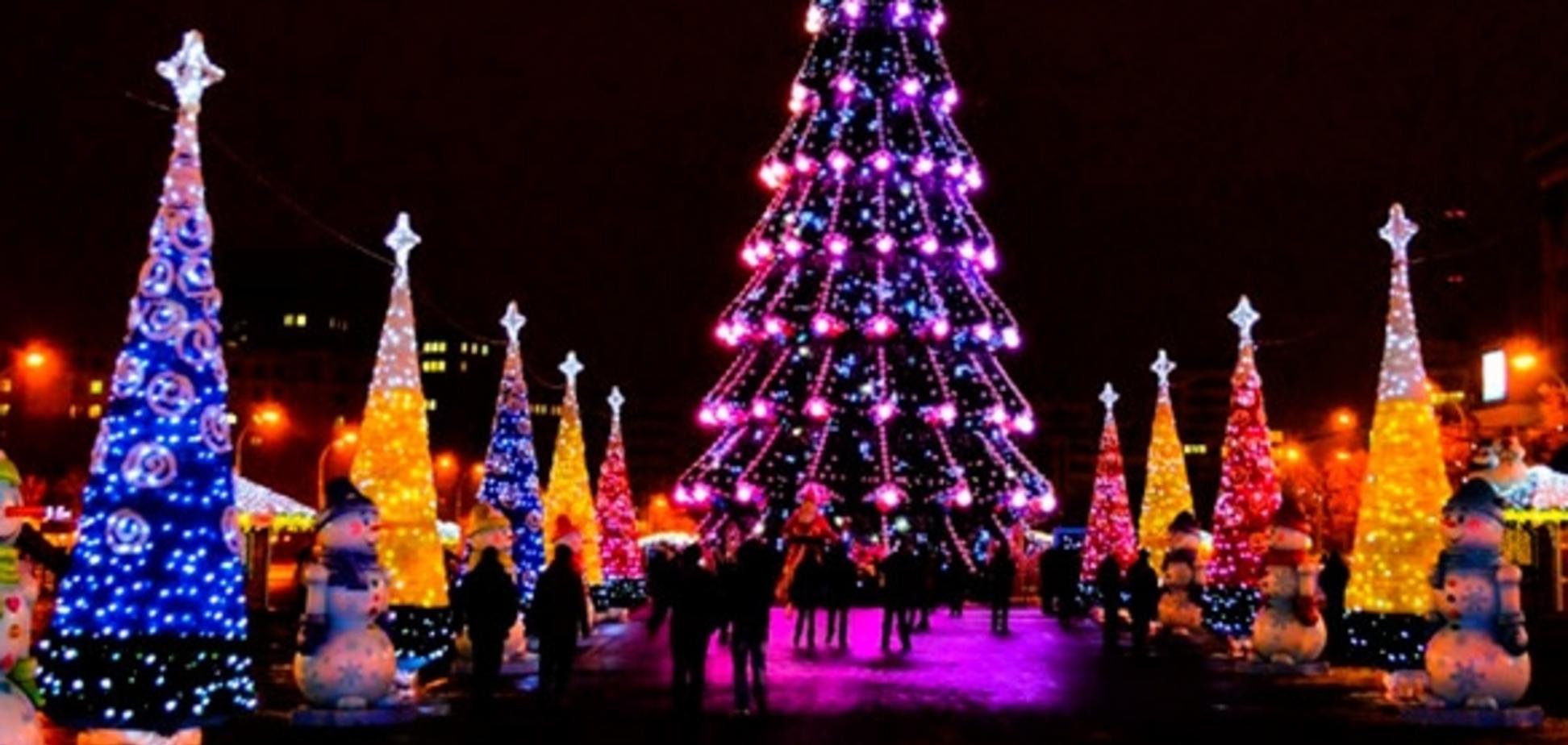 У Харкові відкрили головну новорічну зону: опубліковані фото