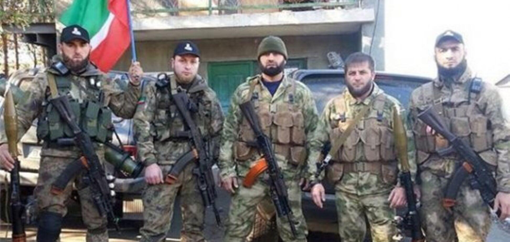 Россия перебросила на Донбасс чеченцев: что известно