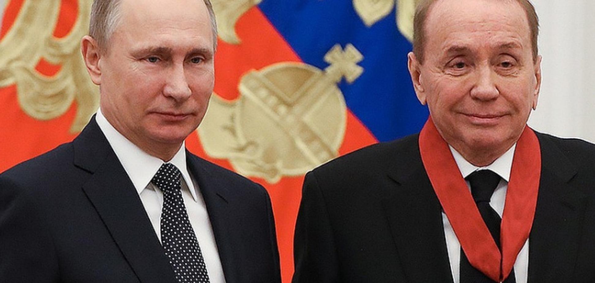 Масляков і Путін