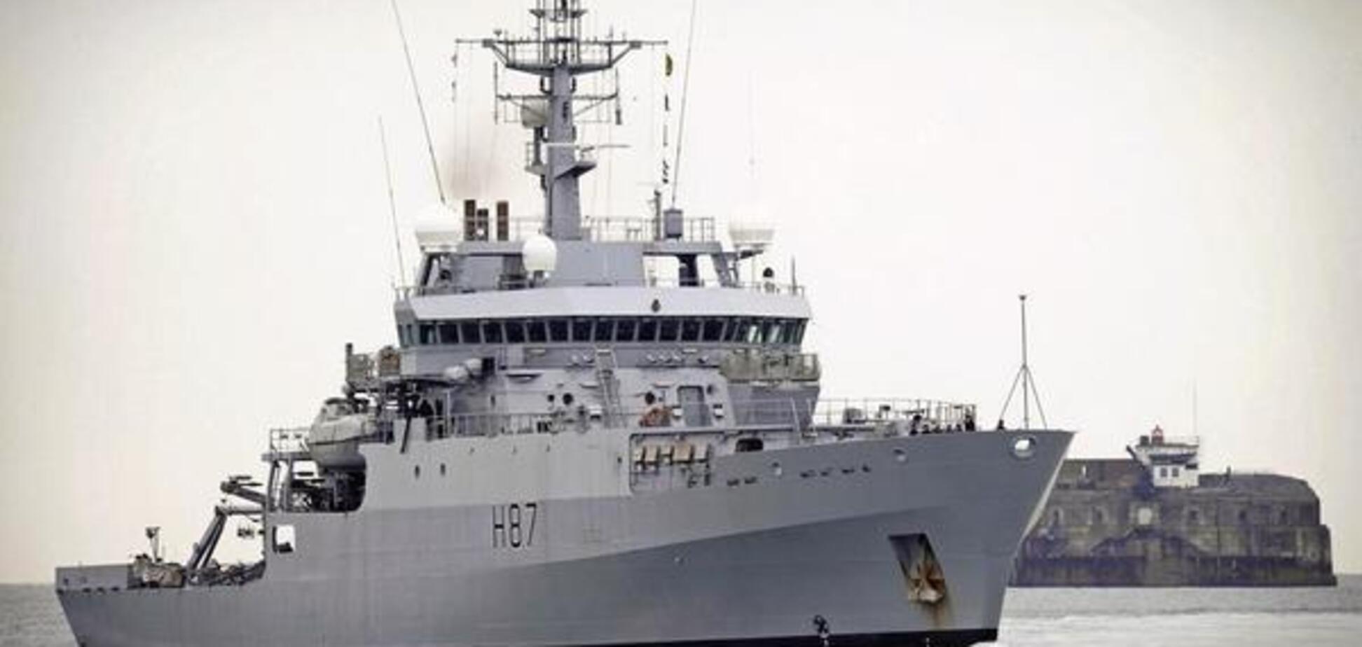 Впервые в Черном море: корабль НАТО прибыл на помощь в Украину. Первое фото