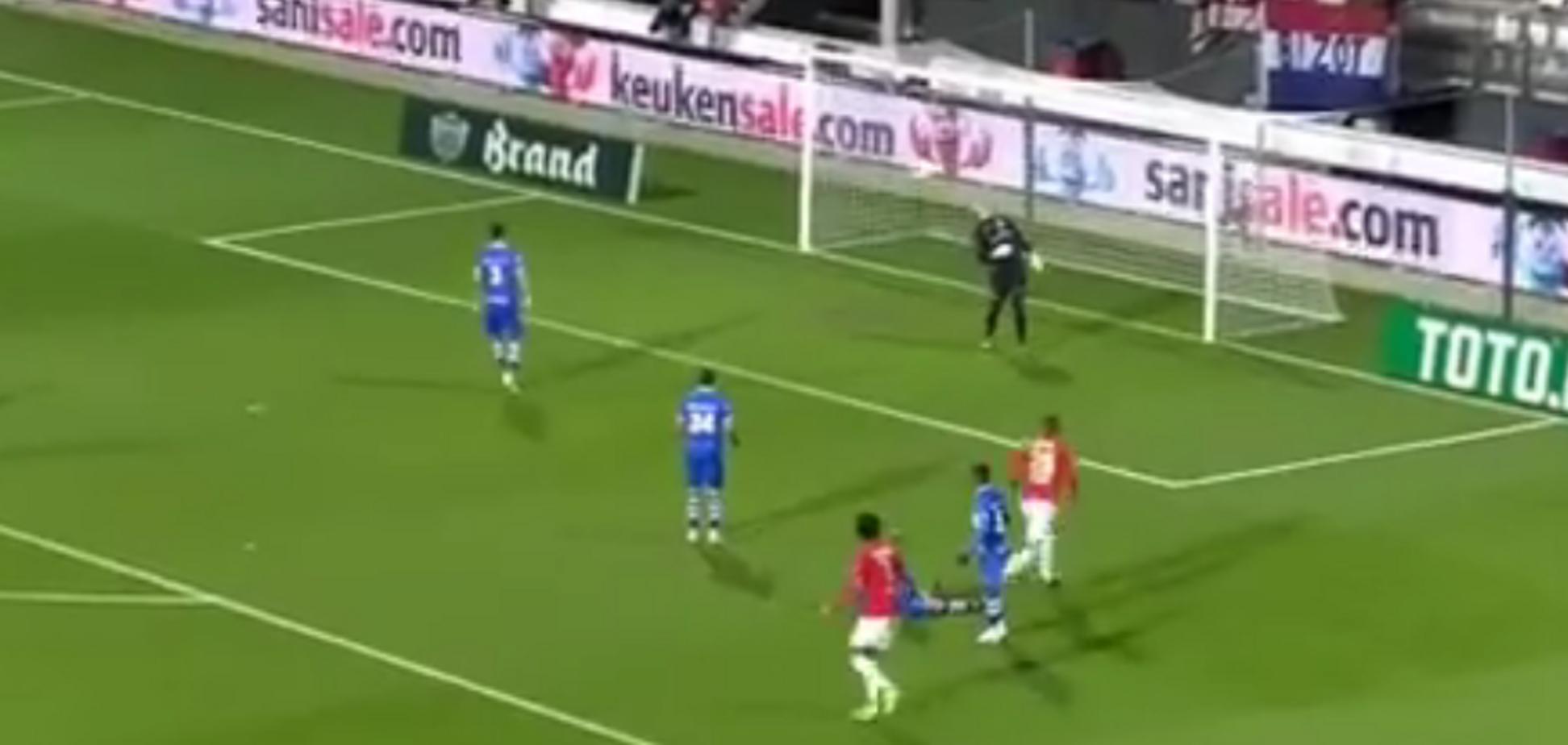 Магія! На футболі в Голландії трапився унікальний епізод