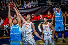 Сборная Украины дала бой Испании в отборе КМ по баскетболу
