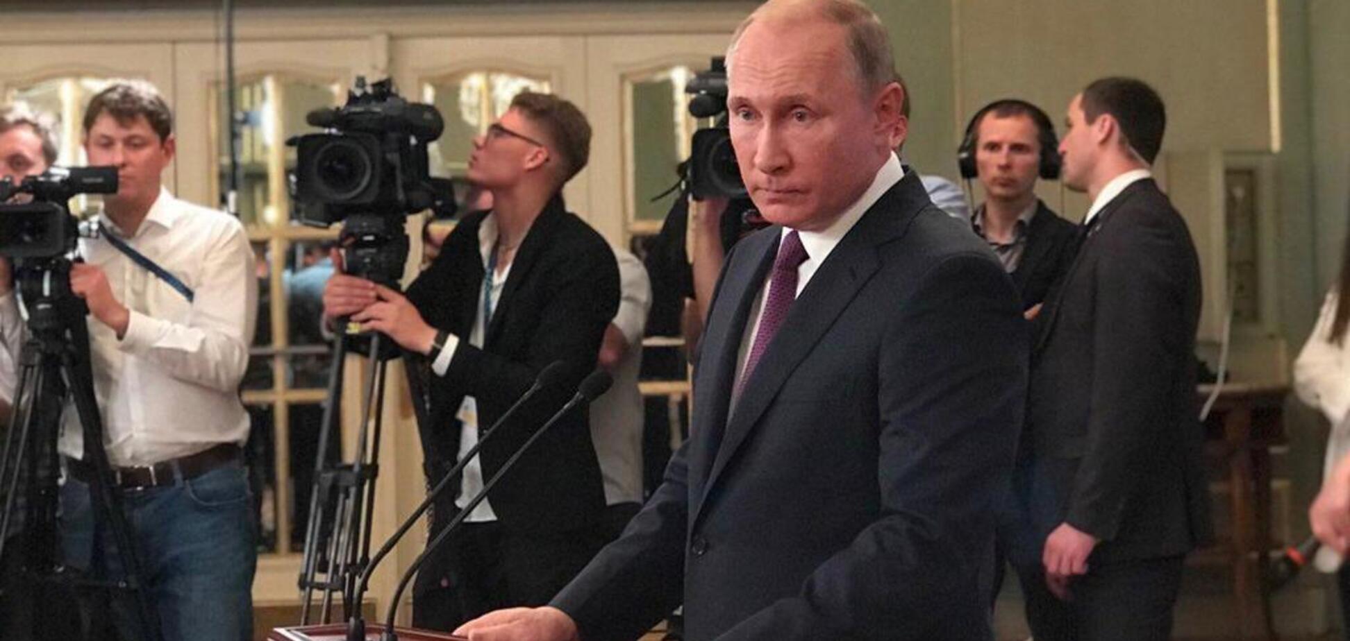 ''Плешивый дурак': Путин стал посмешищем из-за нелепой шутки о кораблях Украины
