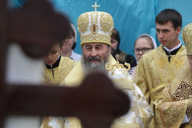 Предстоятель УПЦ Московського патріархату митрополит Онуфрій