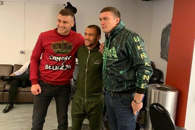 Александр Гвоздик, Василий Ломаченко и Александр Усик