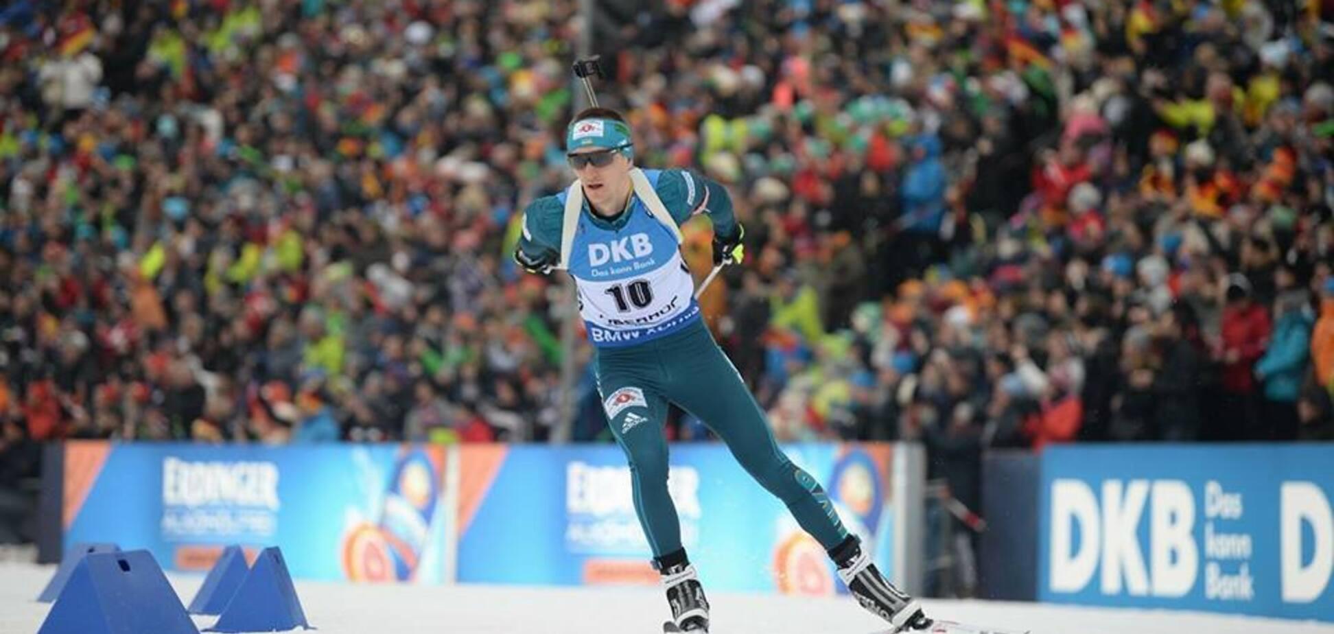 Украинский биатлонист показал феноменальный результат на Кубке мира