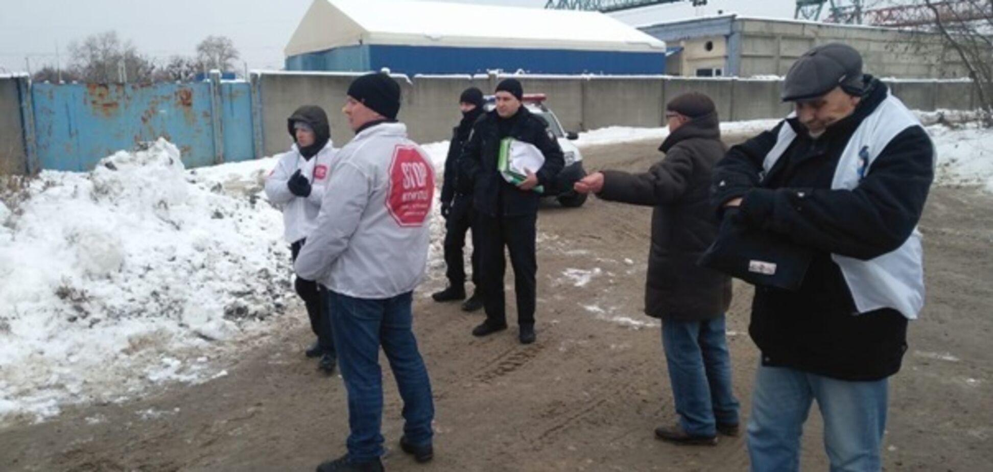 Титушки ''Мостобуда'' разгромили пикет активистов