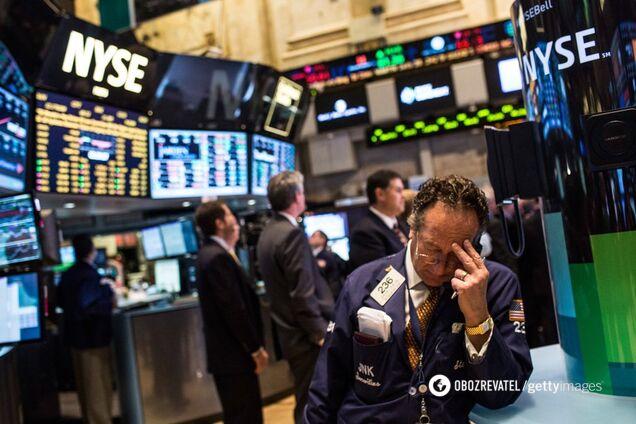 ''Гірший тиждень за десятиліття'': у США впав фінринок