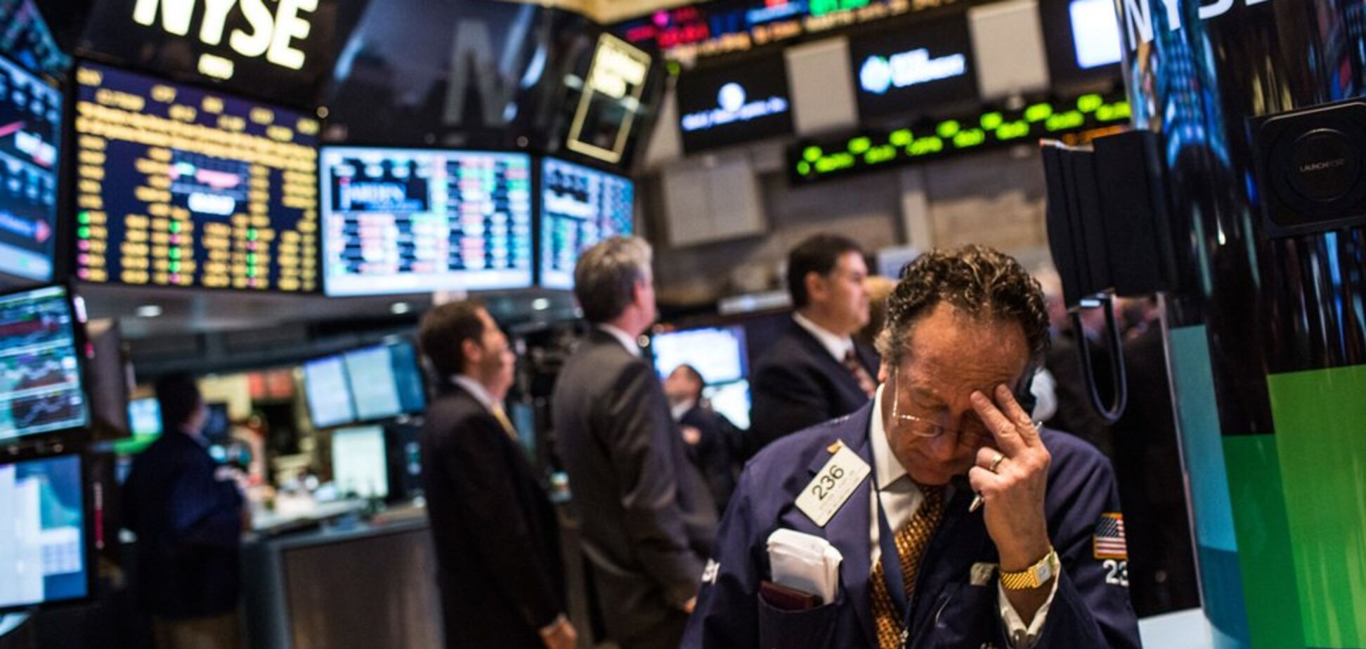 ''Худшая неделя за десятилетие'': в США обвалился финансовый рынок