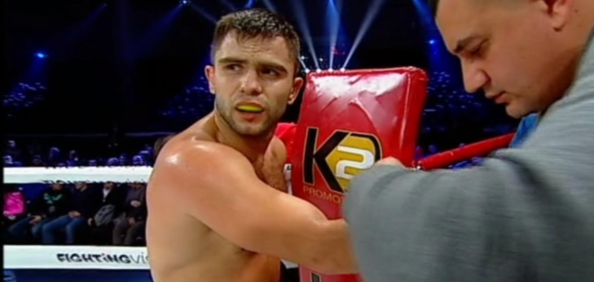 Непереможений український боксер ефектно нокаутував суперника