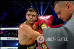 Непобежденный украинский боксер эффектно нокаутировал соперника