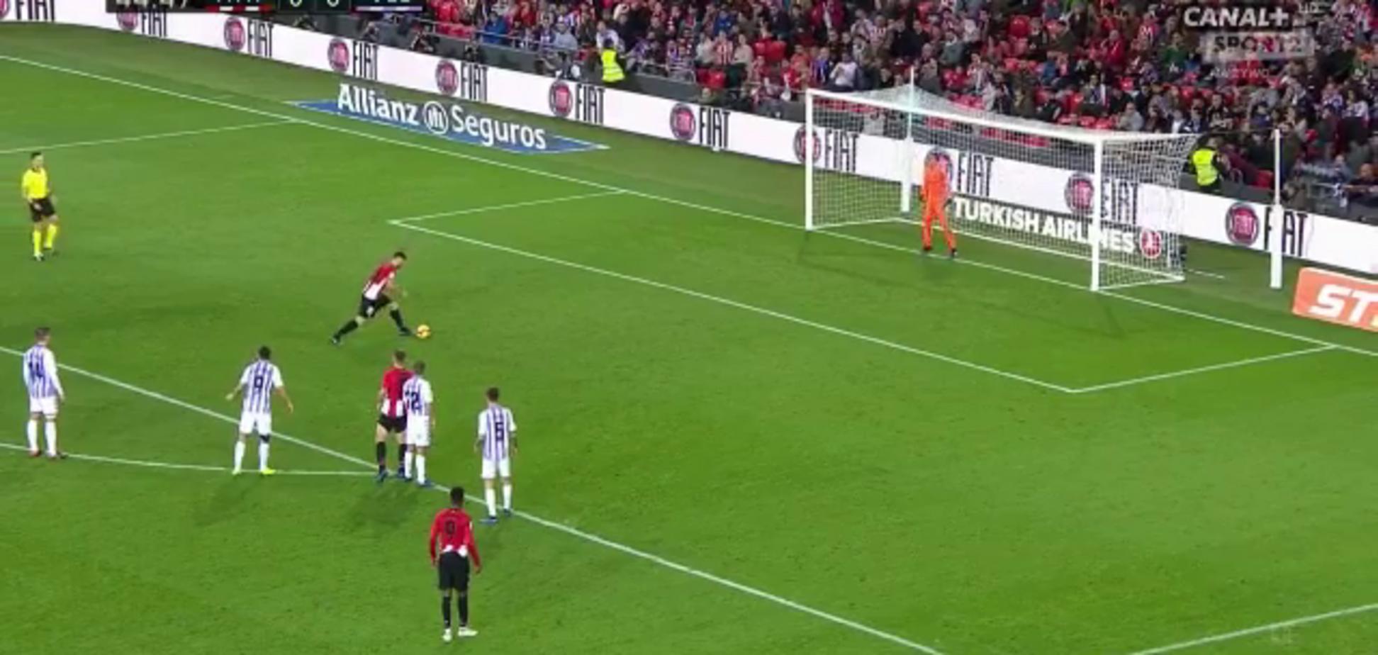 Іспанський футболіст забив найдивовижніший пенальті року — опубліковане відео
