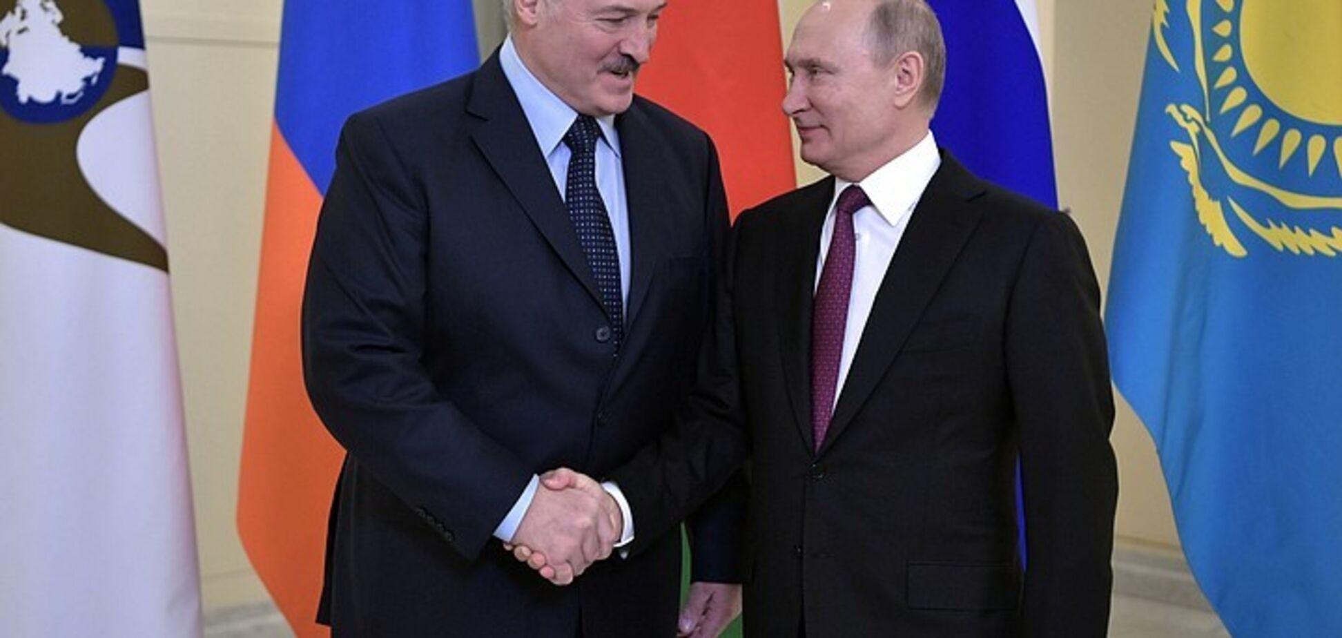 ''Удавка'' для Лукашенко: раскрыт сценарий Путина по 'нежной оккупации' Беларуси