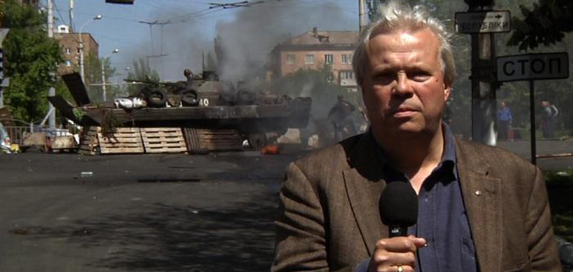 ''Двох уже вбили!'' Австрійський журналіст-''кримнашист'' впав в істерику через ''погрози'' Києва