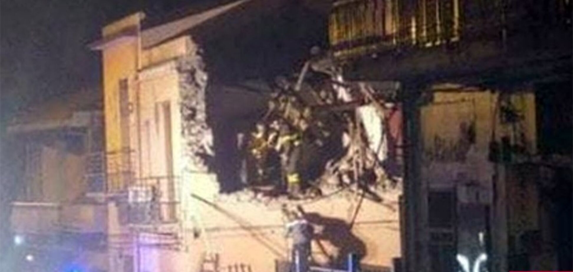 В Италии произошло разрушительное землетрясение: фото и видео последствий