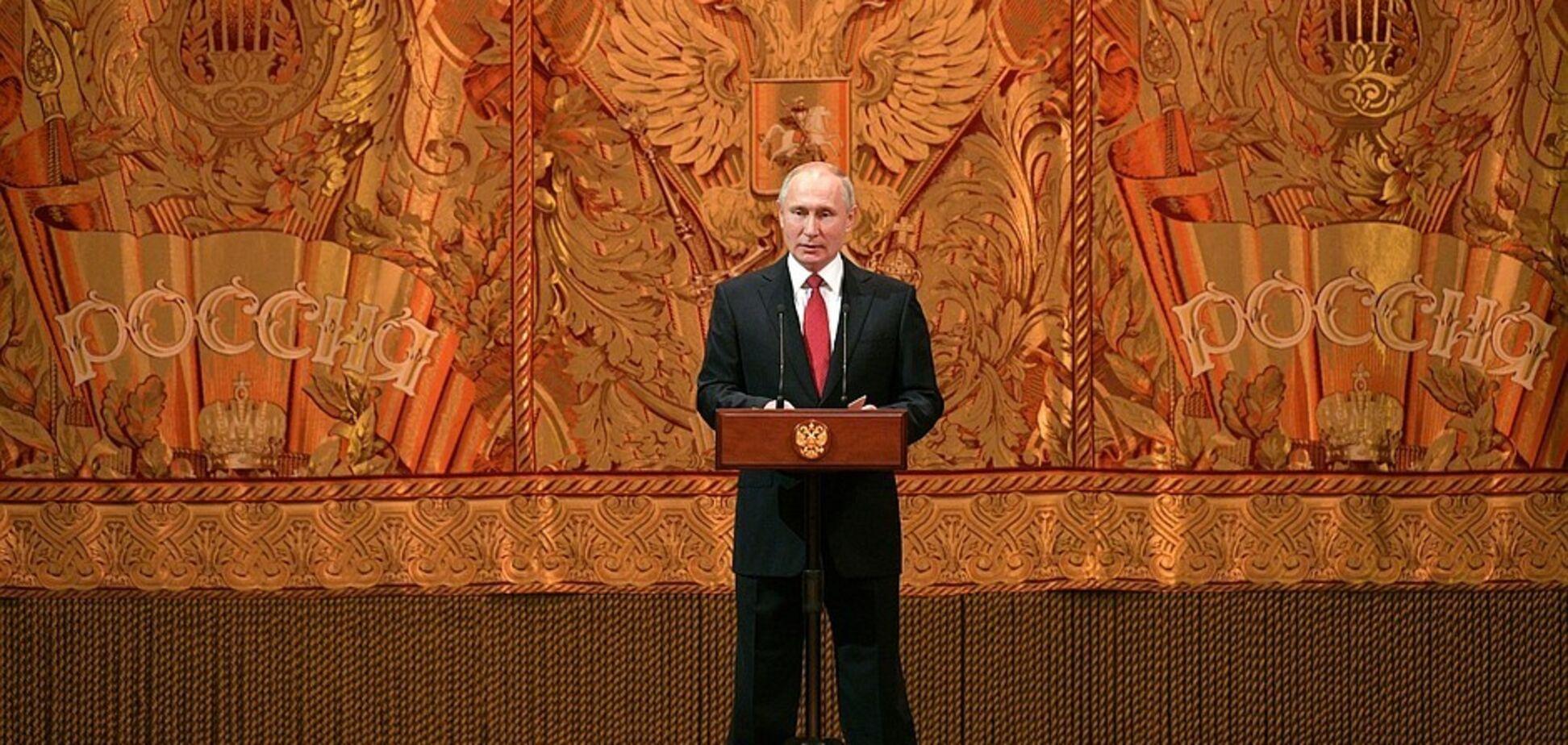Для Росії 2019 рік закінчився, не розпочавшись: Путін осоромився з підсумковою промовою