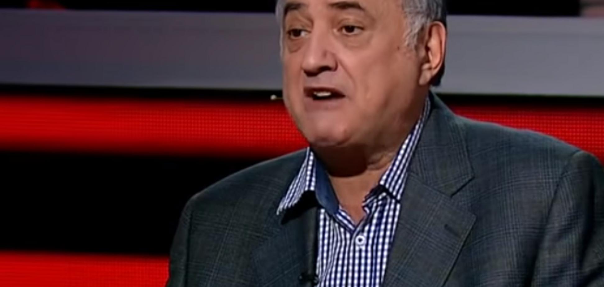 ''Стой, с*ка!'' Пропагандист Путина сцепился с украинцем на росТВ