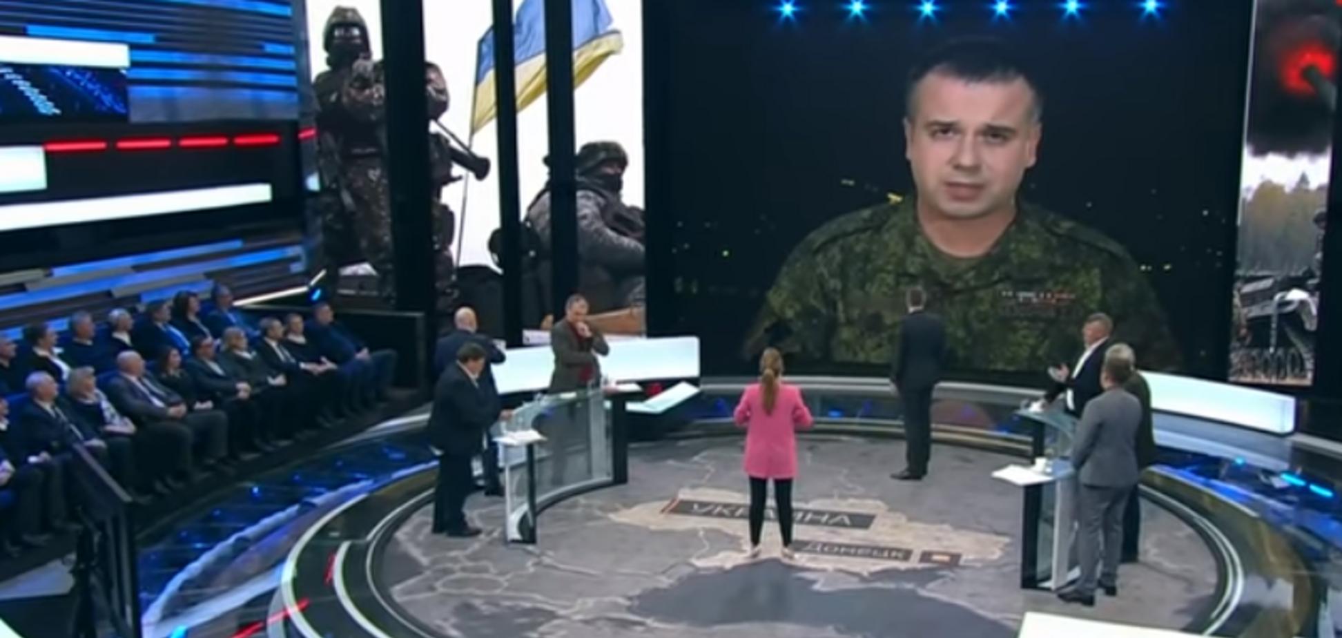 ''Обезьяна!'' Украинец публично унизил террориста ''ДНР'' на КремльТВ