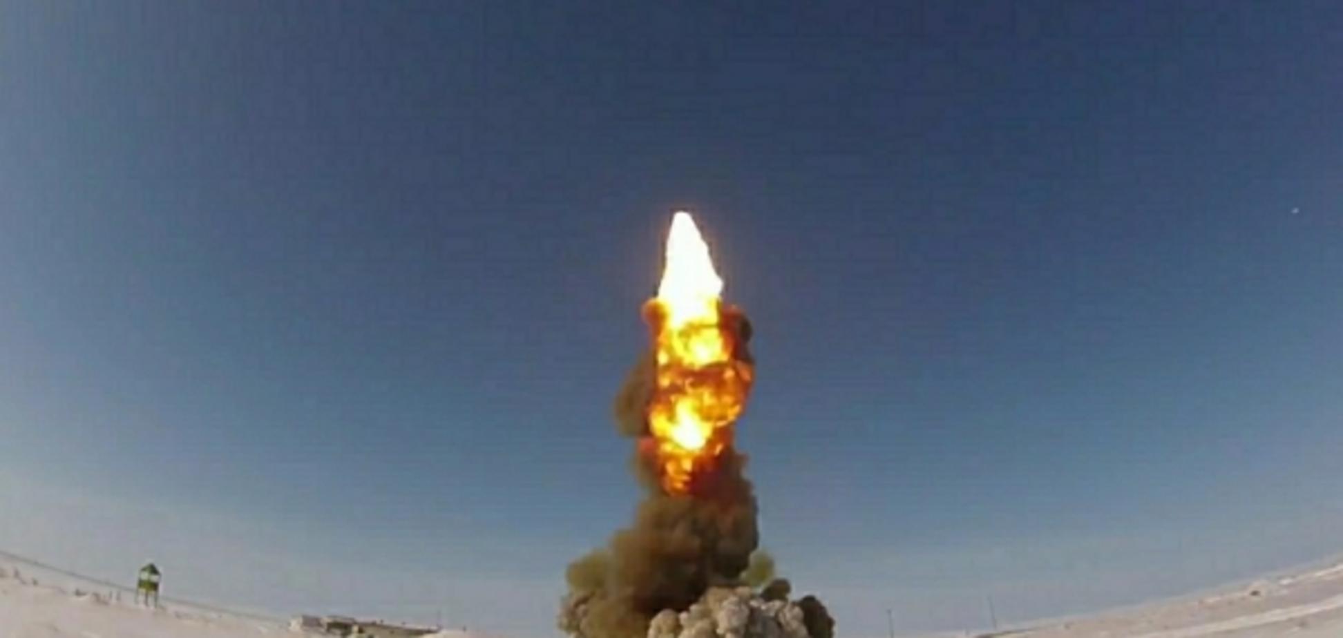 Росія запустила нову стратегічну ракету ''Пшик''
