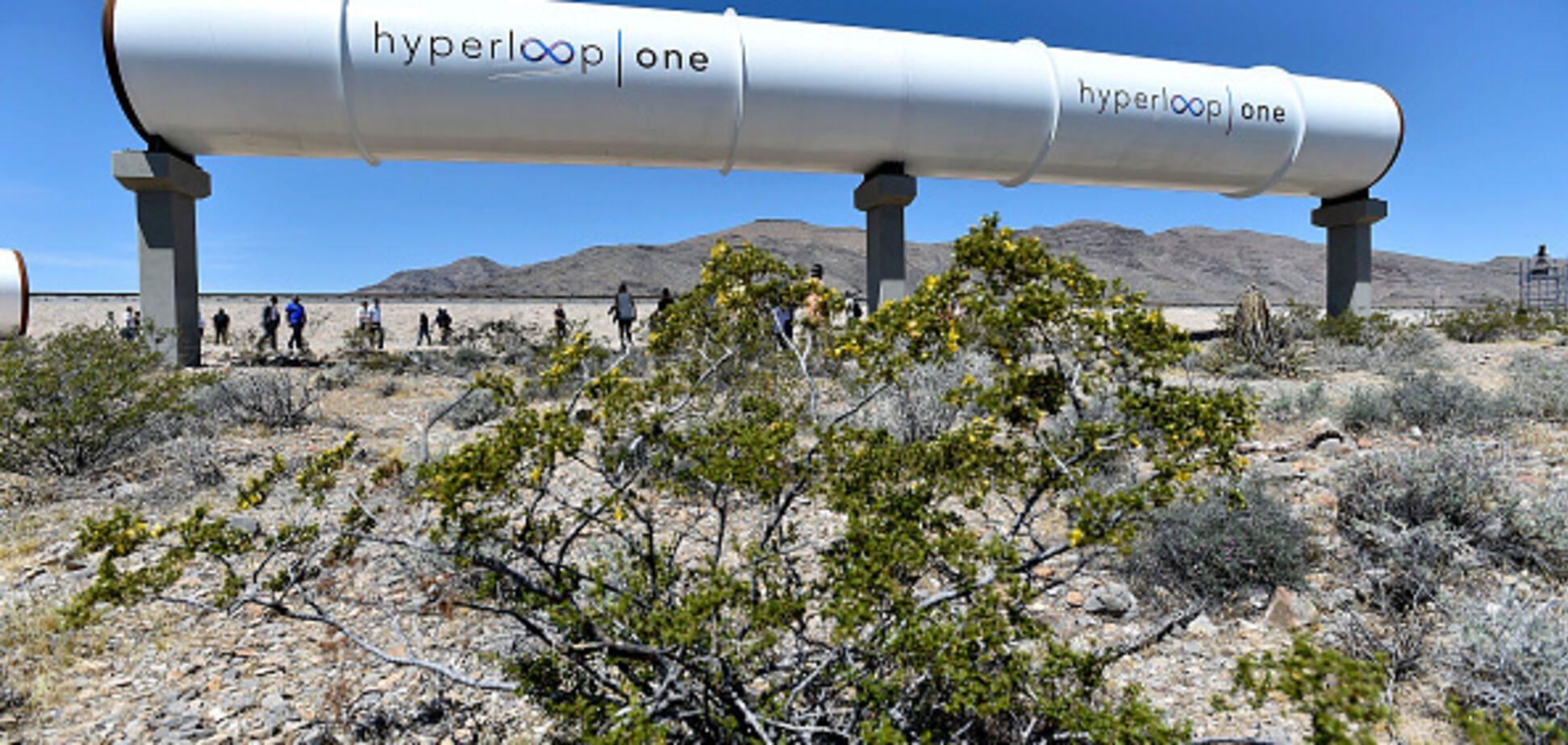 Hyperloop в Украине: названа новая цель проекта