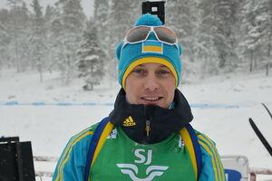 Российский биатлонист выступил на Кубке РФ в украинской форме