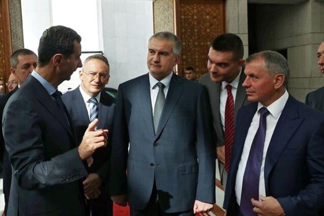Сергій Аксьонов і Башар Асад