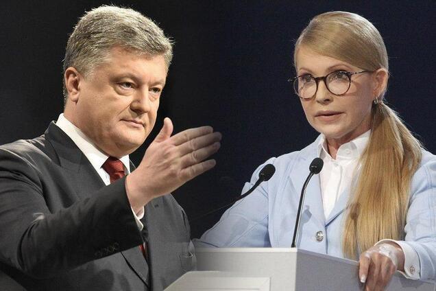 Петро Порошенко і Юлія Тимошенко