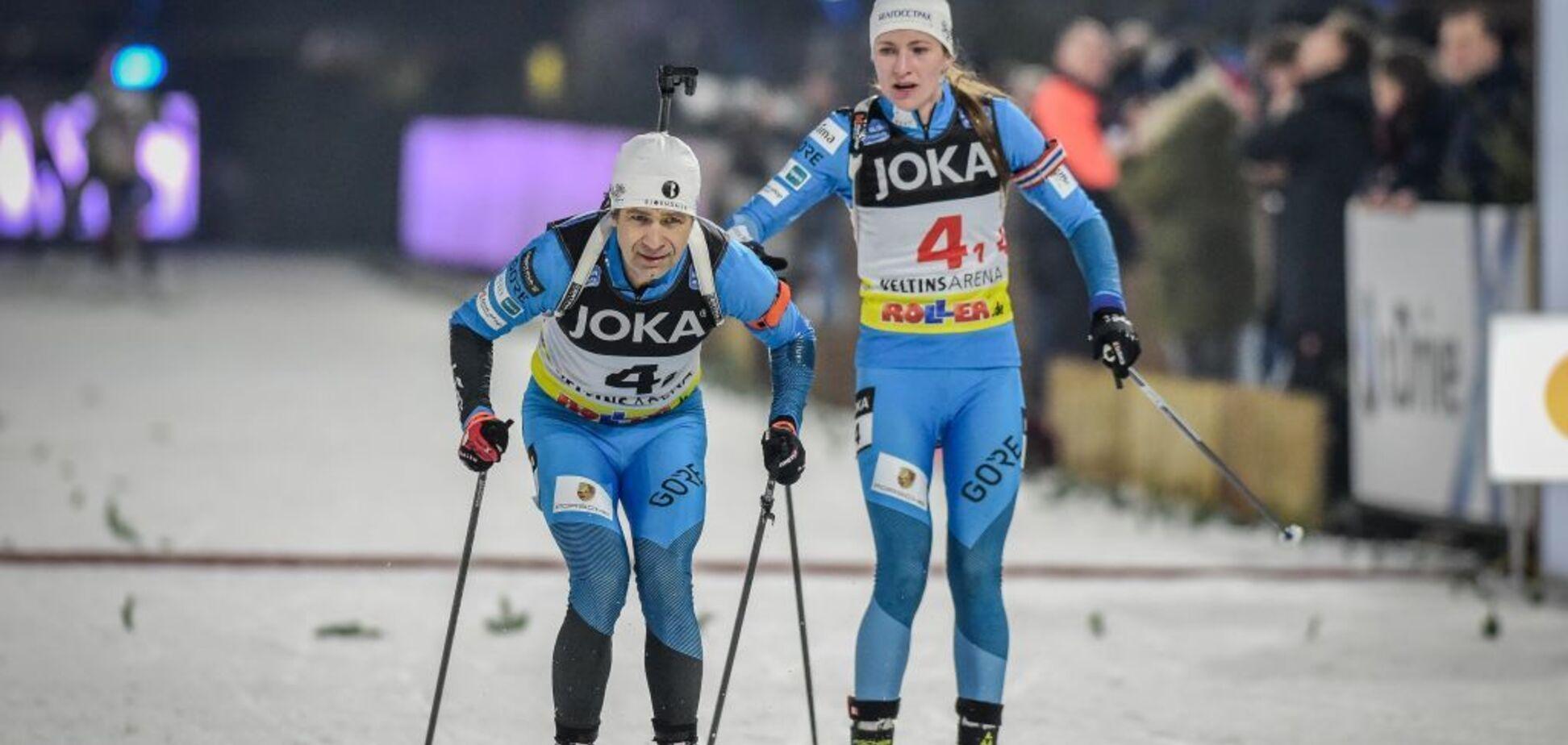 Відео дня: легендарному Бьорндалену подарували медаль в Різдвяній гонці