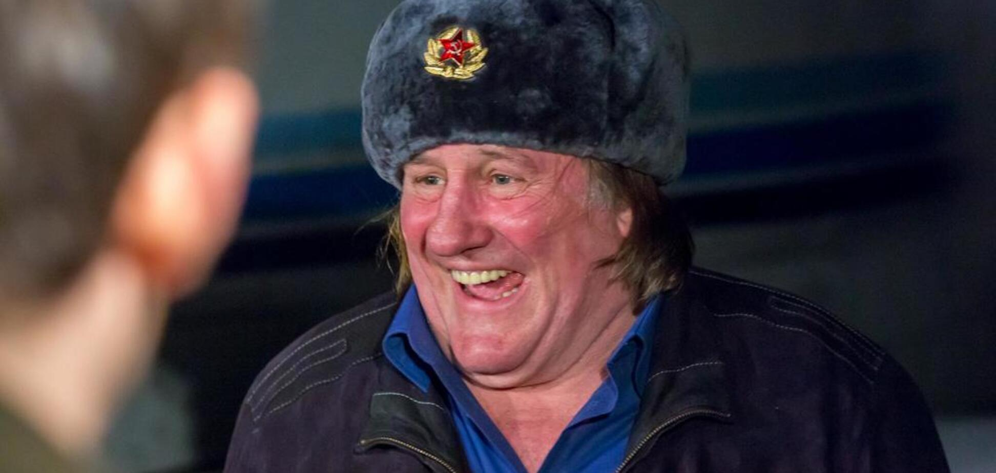 Россия устроила подлость получившему гражданство Депардье