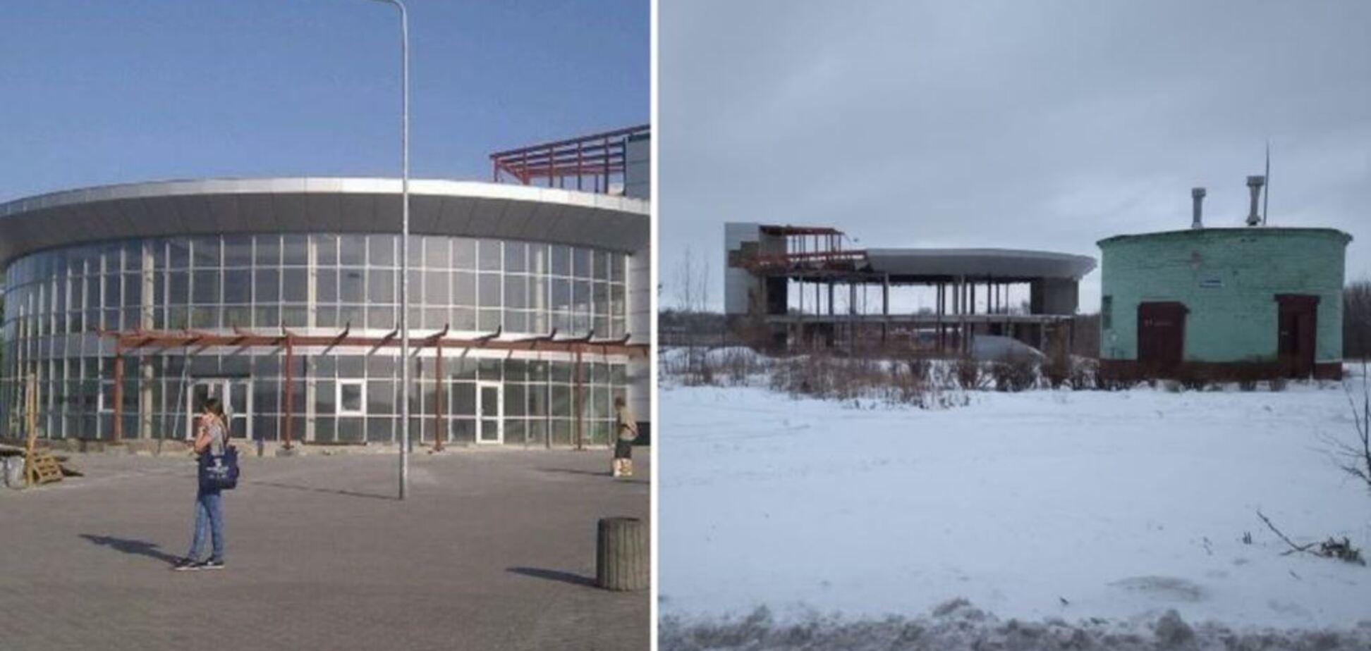 Зруйнований і порожній: з'явилися показові фото передноворічного Донецька