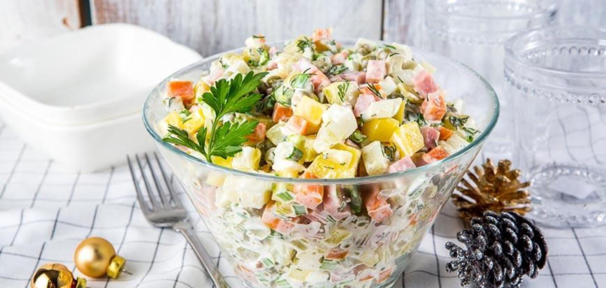 Як приготувати класичний салат олів'є: кращий рецепт