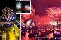 Мир вступил в 2019-й: кто и как встретил Новый год. Яркие фото и видео