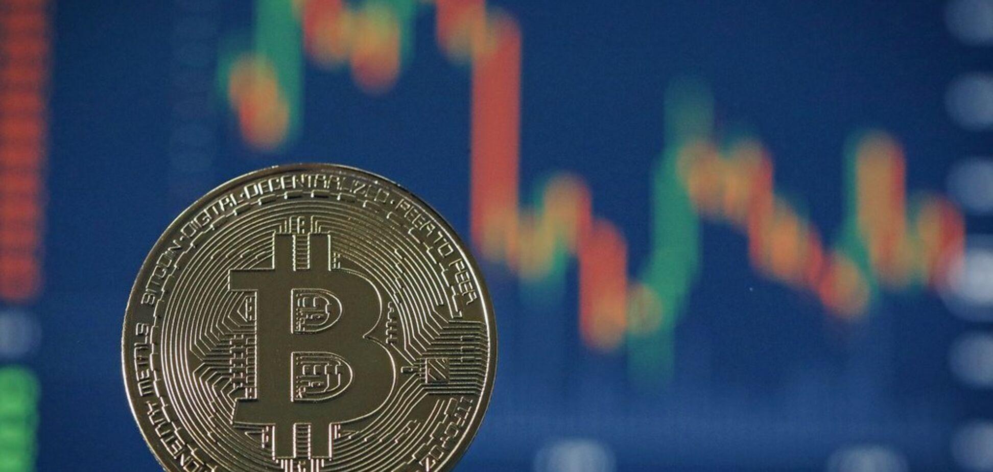 Биткоин упал и потянул за собой рынок криптовалют