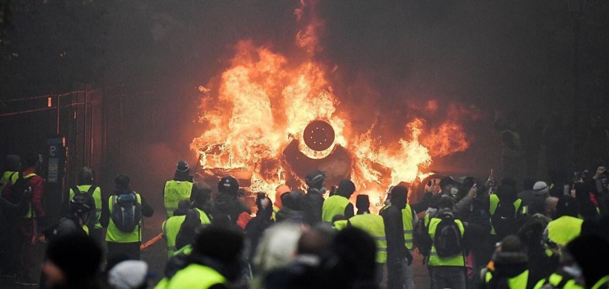 Трагедия во Франции с ''желтыми жилетами'': есть погибший