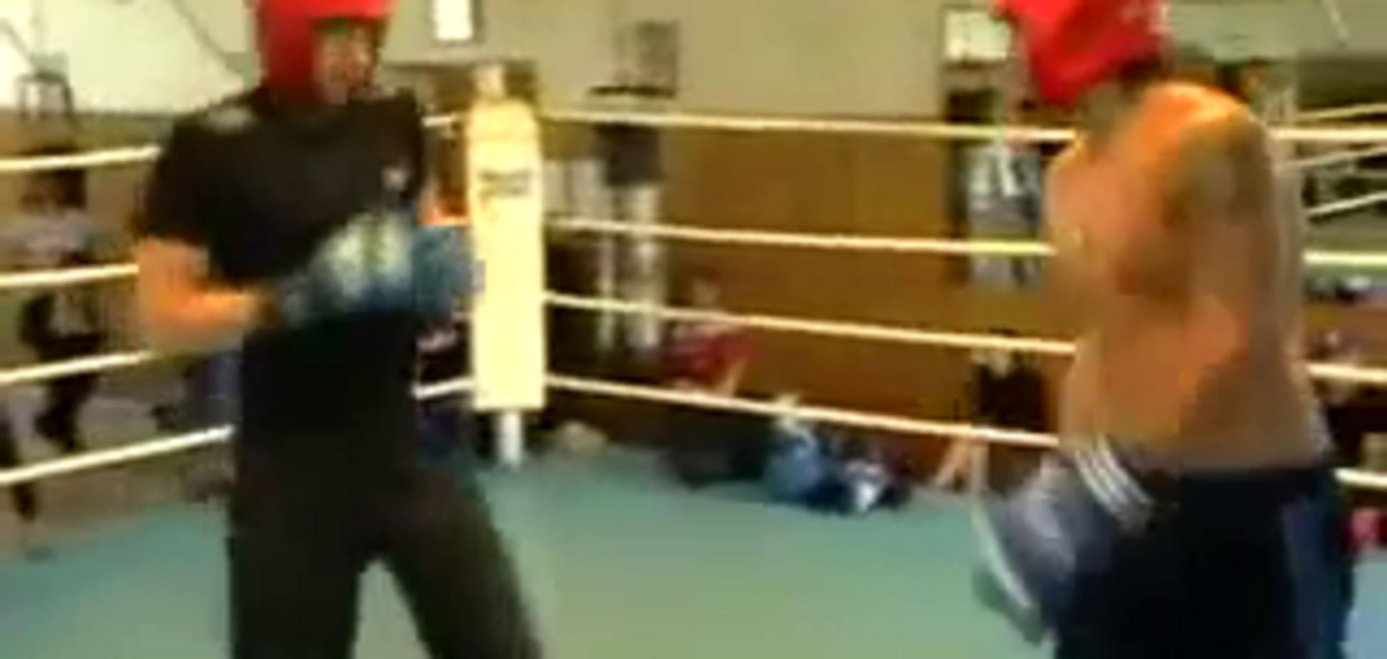 З'явилося відео, як Усик ''побився'' із Гвоздиком